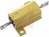 Resistor;Wirewound;Res 20 Ohms;Pwr-Rtg 10 W;Tol 1%;Lug;Alum Housed -- 70023421