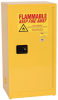 Eagle 16 gal Yellow Hazardous Material Storage Cabinet - 23 in Width - 44 in Height - Bench Top - 048441-33344 -- 048441-33344 - Image