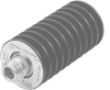 1491 Coaxial Termination, Low IMD Design (Type N, DC-10 GHz, 50 W) -- View Larger Image