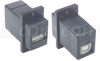 USB Adapter A-B, Black -- ECF504B-UAB