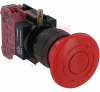 Switch,Emergency Stop, PUSHLOCK TURN RESET, 40MM MUSHROOM, 1NC -- 70174988 - Image