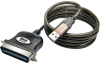 USB to Parallel Printer Cable (USB-A to Centronics 36 M/M), 6-ft. -- U206-006-R - Image