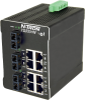 711FX3 HV Managed Industrial Ethernet Switch, SC 15km -- 711FXE3-SC-15-HV -Image