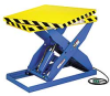 HERCULES Hydraulic Scissor Lift Tables with Rotating Top -- 7283901