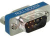 Adapter, Slimline Null Modem Adapter, DB9 Male / Female -- 70126440