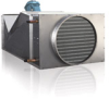 Modulating Fan-Powered Economizer for Condensing and Non-Condensing Appliances -- MFPE 350 SS