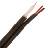 RG59 20AWG 18/2 SIAMESE CCTV CABLE -- 30-01047-BLACK - Image