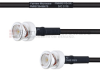 BNC Male to BNC Male MIL-DTL-17 Cable M17/28-RG58 Coax in 100 cm -- FMHR0115-100CM -Image