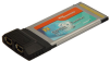 2 Port FireWire/1394 CardBus/PCMCIA (2x6pi&#8230 -- 1002