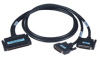 100-Pin to two 50-Pin SCSI Cable -- PCL-10251 - Image