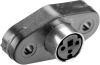 Panel Mount Receptacle Mini Circular DIN Connectors -- MD-80SP