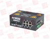 RED LION CONTROLS 508FX2-SC ( INDUSTRIAL ETHERNET SWITCH, 8 PORT (6 10/100BASETX; 2 100BASEFX FIBER UPLINK), DIN-RAIL (MULTIMODE; SC STYLE CONNECTOR) ) -Image
