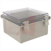 Enclosure; ABS/PC Blended Plastic; Polycarbonate Cover; Clear; NEMA -- 70148565