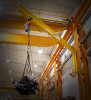 Wall Bracket 2 Ton Jib Crane -- 301 Series - 16' Span