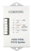 Corning Cable Indoor ADSL/VDSL POTS Splitter -- CPS-DT0A-0W-2P