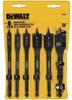 Dewalt Dw1587 - Wood Boring Spade Bit Set 6Pc -- SPADEBITSETDW1587