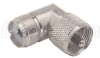Coaxial Adapter, UHF Male (PL259) / 90º Female -- BA404Z