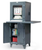 Extra Workspace Computer Cabinet -- 26-CC-242-1WLDSLF - Image