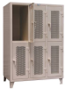 Two-Tier Ventilated Personal Locker -- 4.76-24V-2TPL