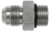 Brennan 6400-10-10-O, Steel JIC Tube Fitting, 10MJ-10MOR… -- 6400-10-10-O