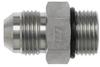 Brennan 6400-10-10-O, Steel JIC Tube Fitting, 10MJ-10MOR… -- 6400-10-10-O