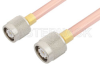 TNC Male to TNC Male Cable 48 Inch Length Using RG401 Coax -- PE34271-48 -Image