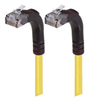 Category 6 Right Angle Patch Cable, Right Angle Up/Right Angle Up - Yellow 15.0 ft -- TRD695RA5Y-15 -Image