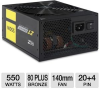 OCZ OCZ-ZT550W ZT Series ATX Modular Power Supply - 550W, 80 -- OCZ-ZT550W