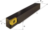Type J Axial Tool Holder with Conventional Clamping -- WSJ