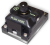 High-Frequency Center Probe™ Test Socket w/Adjustable Pressure Pad for Devices up to 27mm Square