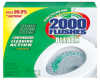 2000 FLUSHES CONC TBLT 6/1.25oz TWIN PK -- WDC 290088 - Image