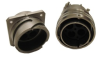 Cylindrical, Metal, Reverse Bayonet, Environmental & Rugged Connector -- ACA-B Bayonet Series