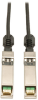 SFP+ 10Gbase-CU Passive Twinax Copper Cable, SFP-H10GB-CU1M Compatible, Black, 1M (3-ft.) -- N280-01M-BK