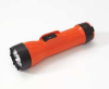 Handheld Flashlight,3D Batteries,Orange -- 3YYV2 - Image