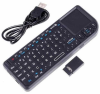 Rii Portable 2.4GHz Mini Wireless Keyboard Handheld Rechargeable Keyboard Touchpad -- KEY-M-02 -- View Larger Image
