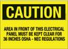 Signs : Warning/Egress/Fire/Danger/Etc. : Polyester -- PPS1014C141