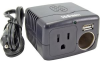 Arkon Deluxe Power Inverter with 3-in-1 USB/AC/DC Ports -- CADAU-150B