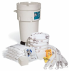 Oil-Only Spill Kit in 50-Gallon Wheeled Overpack Salv. Drum -- KIT468
