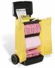 PIG HazMat Spill Kit in High-Visibility Cart -- KIT344