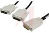 Cable Assy; DMS-59 to DVI-I; 59; EMI/RFI -- 70190574 - Image