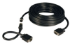 VGA Coax Monitor Easy Pull Cable, High Resolution cable with RGB coax (HD15 M/M) 50-ft. -- P503-050