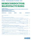 IEEE Transactions on Semiconductor Manufacturing