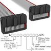 Rectangular Cable Assemblies -- A3DDH-1606G-ND -Image