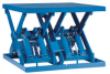 Double Wide (PDW) Series Lift Tables -- PVDW-3222
