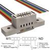 Rectangular Cable Assemblies -- M1FXK-1036R-ND -Image