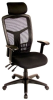 interion Multifunction Web Mesh Highback Office Chair - 3.5