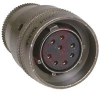 connector,straight plug,class e,size 12,8 #20 solder socket contact -- 70011057