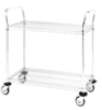 Cleanroom Shelving -- General Wire Shelving Cart