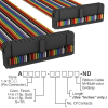 Rectangular Cable Assemblies -- A3DDH-3418M-ND -Image