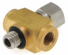M5 Threaded Cross Fitting -- M5CM-M5M5 -Image